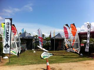 Gran éxito de participación en la Surfalegre World Cup 2011 de windsurf