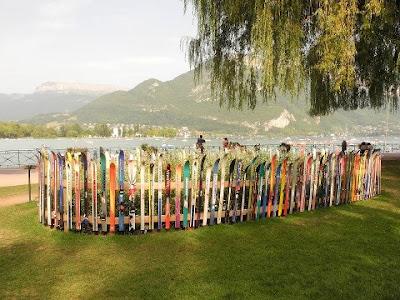 ¿Guardas tus viejos esquís?