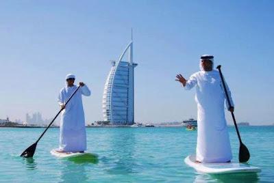 El paddle surf, cada vez más de moda