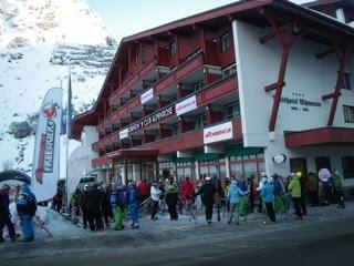 Testeando esquís Nordica en Austria