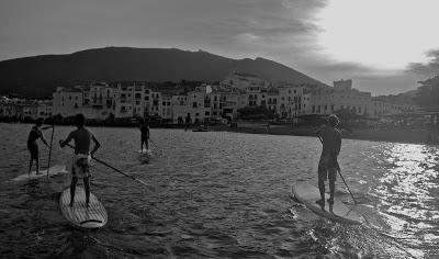Gran fin de semana de paddle surf