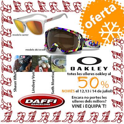Promoción de la semana: Oakley al 50%