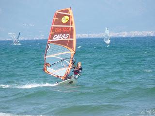 El diario de Aida: Una semana de windsurf en la Costa Brava
