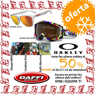 Oferta de la semana: Oakley al 50%