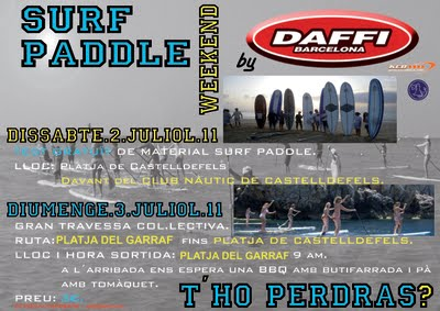 Surf paddle weekend