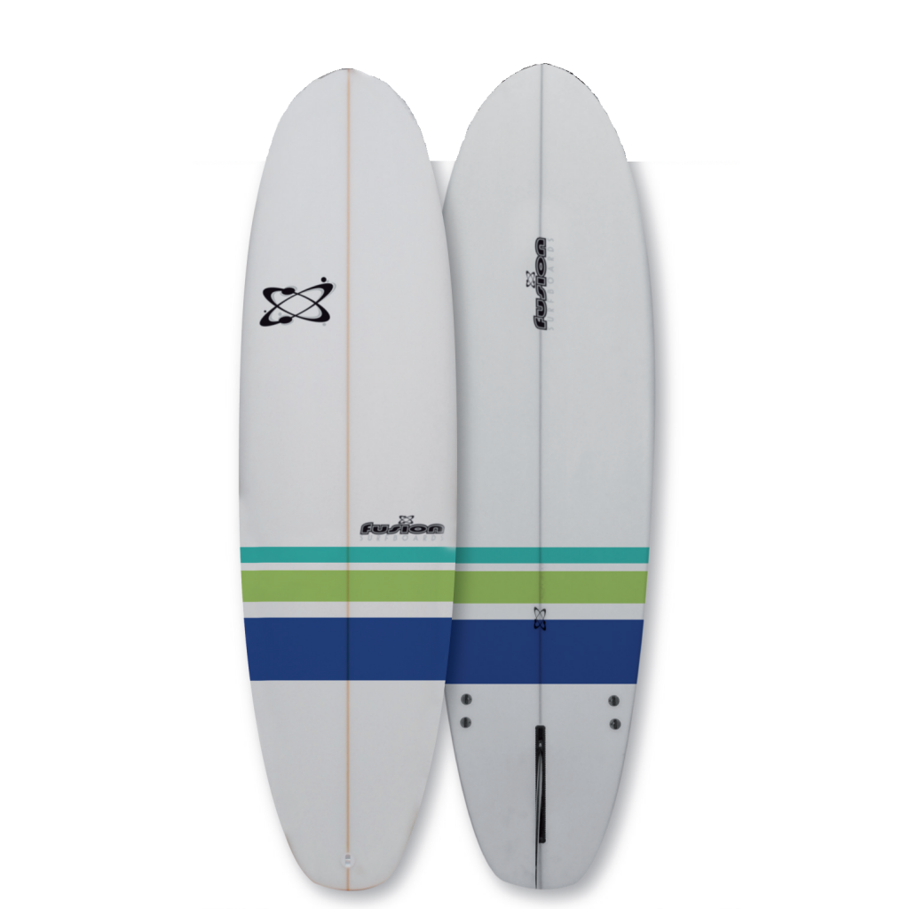 Shop Tabla de surf Fusion Egg 6\'4\'\' - Daffi Barcelona
