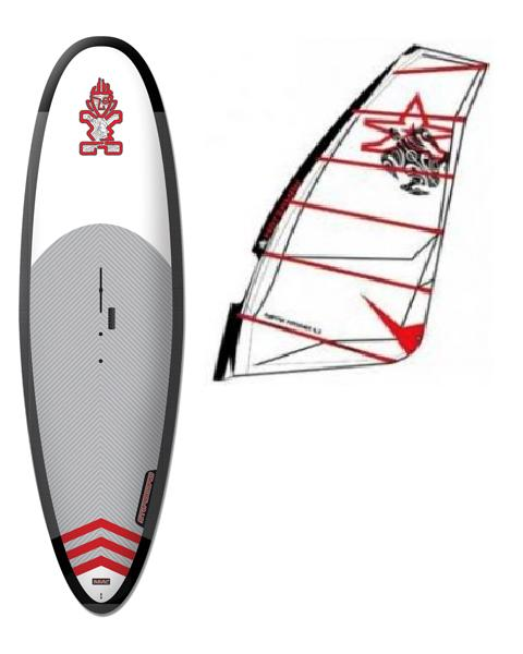 Tabla STARBOARD WindSUP + aparejo con vela WATERMAN